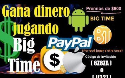 BIG TIME Gana Dinero Real con Esta App Paypal y Sorteos