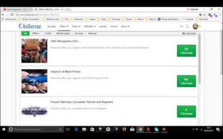 ClixSense 2018 Como Funciona Gana Mucho Dinero sin Invertir
