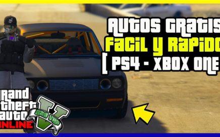 """COMO CONSEGUIR AUTOS GRATIS EN """"GTA V ONLINE"""" FACIL Y RAPIDO [ PS4- XBOX ONE ]"""