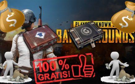 Como ganar dinero con las cajas del Playerunknown's Battlegrounds Graits