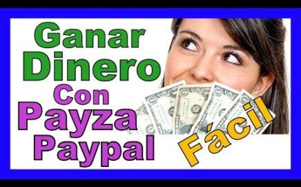 """Como Ganar Dinero Con Paypal Payza Online """"SI PAGA"""" Dolares Desde Casa Facil y Rapido En Casa 2016"""