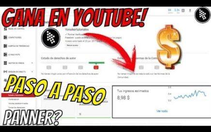 Como! GANAR DINERO $ Con Tus VIDEOS (Paso a Paso Monetización) 2018