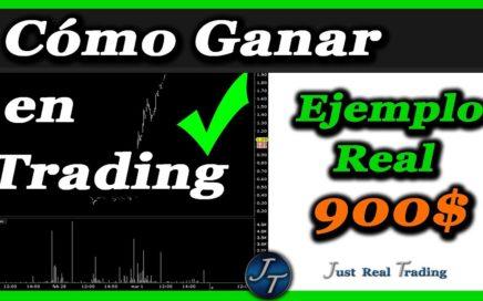 Cómo Ganar Dinero en Trading, 900 Dólares en una hora, Ejemplo Real // Josan Trader