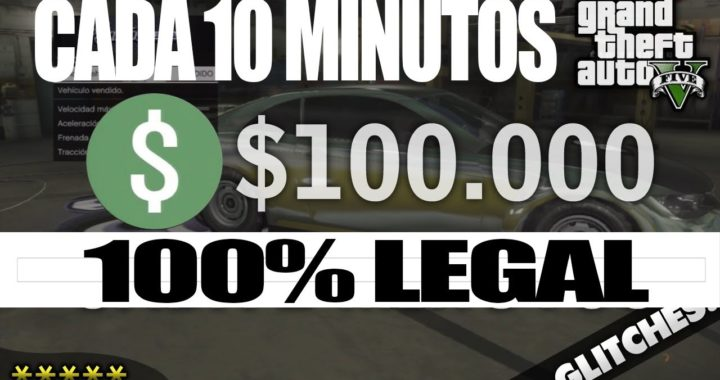 Como ganar dinero facil en GTA V (2017 100% legal)
