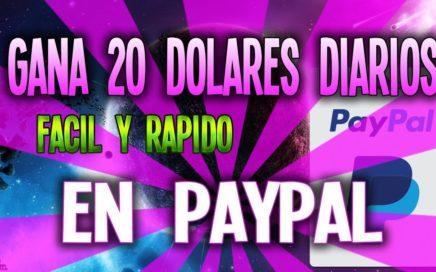 COMO GANAR DINERO PARA PAYPA 20$ DIARIOS [FÁCIL Y RÁPIDO]  | COMPROBANTES DE PAGO
