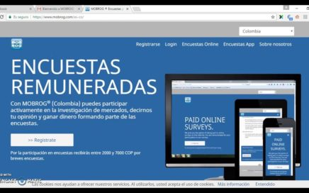 COMO GANAR DINERO POR INTERNET CON ENCUESTAS! | COLOMBIA 2017 | LATINOAMERICA PAGO EN USD