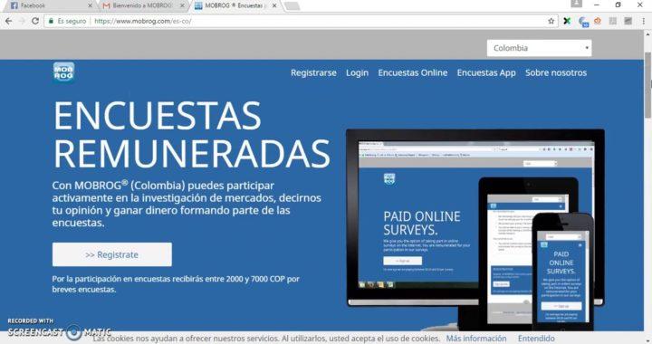 COMO GANAR DINERO POR INTERNET CON ENCUESTAS!   COLOMBIA 2017   LATINOAMERICA PAGO EN USD