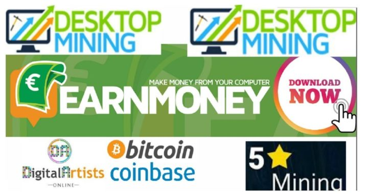 DIGITAL ARTISTS BITCOIN CASH - EARN MONEY NETWORK - DESKTOPMINING  5-SMINING