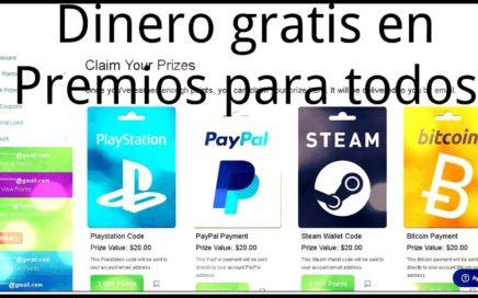 DINERO GRATIS para todos desde $20 USD en PayPal hasta 1 Bitcoin, juegos, gemas y mas.