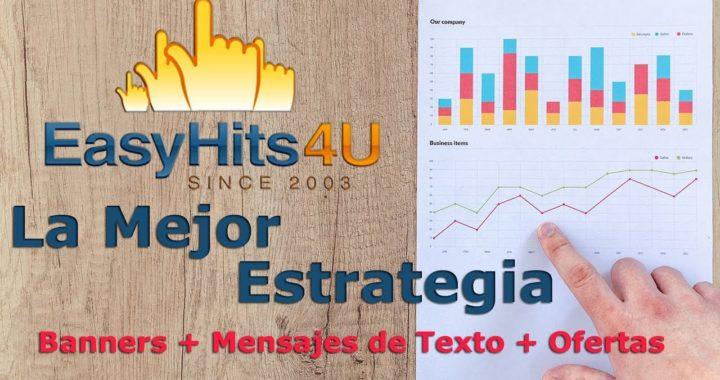 EasyHits4U Estrategia cuenta Premium (Aumenta tus Visitas #Tráfico Web)