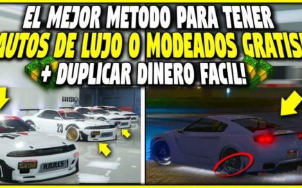 EL MEJOR METODO PARA TENER AUTOS DE LUJO O MODEADOS GRATIS! + GTA 5 TRUCO DINERO INFINITO FACIL!