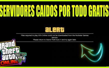 ¡ESTE ES EL MOTIVO POR EL QUE LOS SERVIDORES DE ROCKSTAR EN *GTA V ONLINE 1.42* ESTÁN CAIDOS!