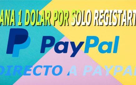 Gana 1 Dolar TOTALMENTE GRATIS-PEDIDO DE PAGO EN PENDIENTE!