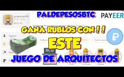 GANA DINERO PARA PAYEER CON ESTE JUEGO DE ARQUITECTOS..!!