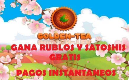 Gana dinero por internet CON O SIN INVERSION | Golden-Tea | MarTutoriales