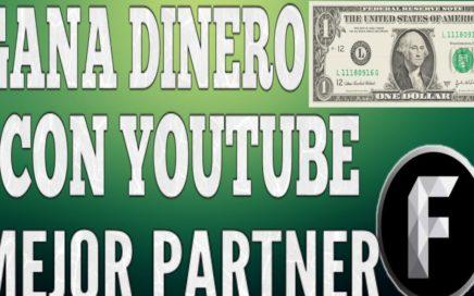 Gana dinero Youtube (BIEN EXPLICADO) El mejor Partner | Freedom