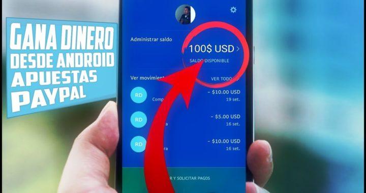 Gana Mas 100$ Dólares Desde Tu Móvil Android - Haciendo Apuestas Con openupdollars Fácil y Rápido