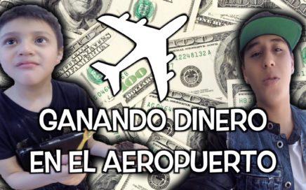 Ganando dinero en el Aeropuerto | Tampico | Soy Fredy