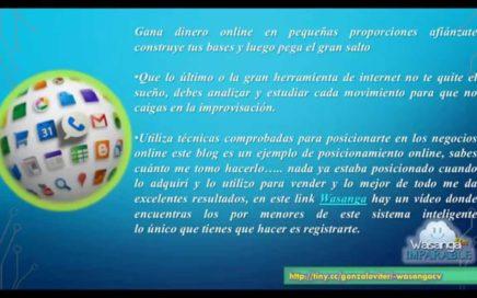 Ganar dinero Online - Recomendaciones de un Experto