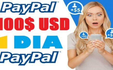 GANÈ 100$ DÓLARES A PAYPAL 9 ENERO 2018 - DISPUTAS DE PAYPAL