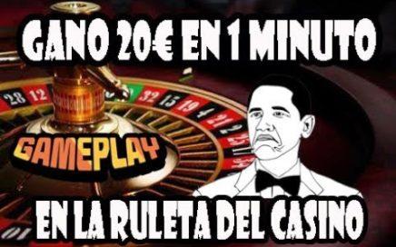 GANE 20€ EN 1 MINUTO JUGANDO A LA RULETA DEL CASINO | TRICKASINO