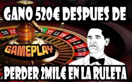 GANO 520€ DESPUES DE PERDER 2MIL€ EN LA RULETA MULTI WHEEL | TRICKASINO