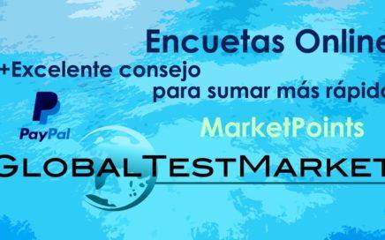 Globaltestmarket cobro de $1000 (Gana dinero con Encuestas)