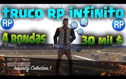 GTA 5 ONLINE TRUCO RP INFINITO MASIVO FUNCIONA 1.39 + DINERO EXTRA