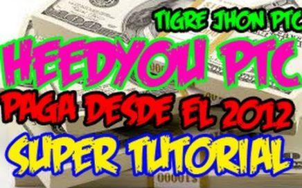 Heedyou Que es y Como Funciona? | Heedyou 2018 Trucos Como ganar dinero? | Heedyou PTC 2017 Español