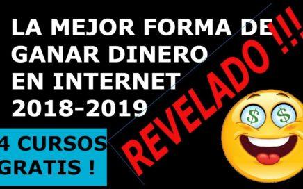 LA MEJOR FORMA DE GANAR DINERO POR INTERNET 2018-2019 BLOUNI