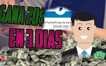 La mejor Pagina del 2018 Para ganar dinero por internet | Gana 20$ en 3 Dias (Comprobante de pago)