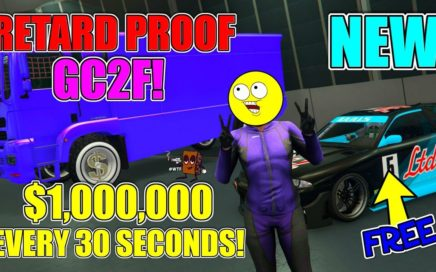 MAD Easy $1,000,000 In 30 Seconds On GTA 5 Online Money Glitch... (GTA 5 EASY MONEY 1.42)