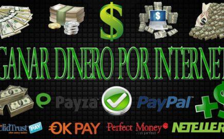 Mejor Forma Para Ganar Dinero Por Internet [TRABAJAR Y VIVIR DEL INTERNET][BIEN EXPLICADO]