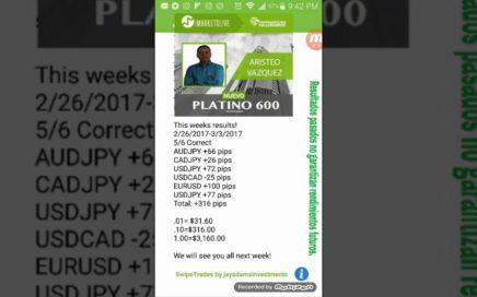 MIRA Como ganar $3,160 USD en 1 Semana en FOREX  copiando y pegando | Ingresos Extra