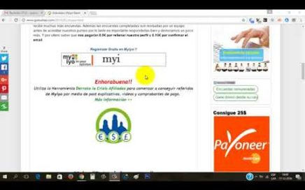 Myiyo Explicación Completa   Dinero Gratis a Paypal con Encuestas Remuneradas