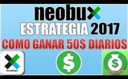 NEOBUX 2017 NUEVA ESTRATEGIA DE COMO GENERAR $50 DIARIOS [VIGENTE]