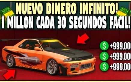 NUEVO- CONSIGUE $1.000.000 CADA 30 SEGUNDOS ULTRA FACIL! GTA 5 1.42 DINERO INFINITO (PS4,XBOX ONE)