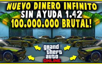 NUEVO TRUCO DINERO INFINITO SOLO SIN AYUDA SUPER FACIL!! | GTA 5 DINERO FACIL Y RAPIDO BRUTAL!