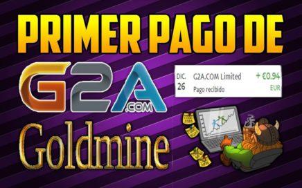 PRIMER PAGO DE G2A GOLDMINE | GANA DINERO RECOMENDANDO GIFTS CARDS DE AFILIADOS!