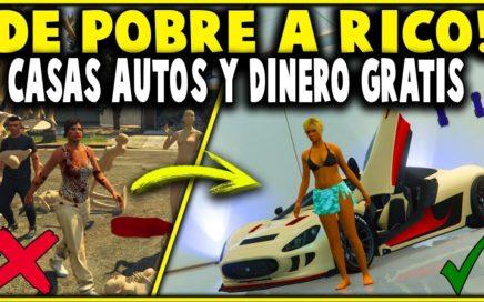 SIN AYUDA - DINERO INFINITO! - GTA 5 1.42 SOLO! DE POBRE A RICO FACIL