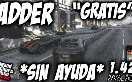 *SOLO* - SIN AYUDA - ADDER  GRATIS - GTA 5 - GUARDAR DEPORTIVOS DE LA CALLE - (PS4 - XBOX One)