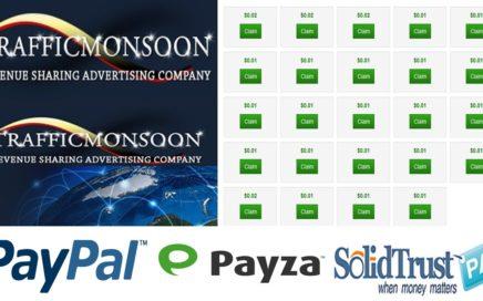 Trafficmonsoon: Referidos, Ganar dinero, trucos, estrategia, 10 minutos, requisitos, registro