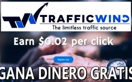TrafficWind, Que es y Como Funciona   Como Ganar Dinero por Internet Gratis
