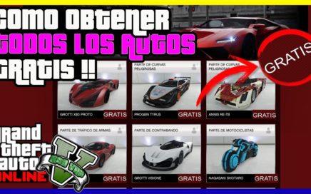 """TRUCO BESTIAL!! COMO OBTENER TODOS LOS AUTOS GRATIS DE """"GTA V ONLINE"""" SUPER FACIL"""