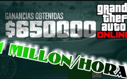 TRUCO: Dinero infinito 1 millon/hora super facil!!! Gta 5 Online (ps4/xbox one/pc)