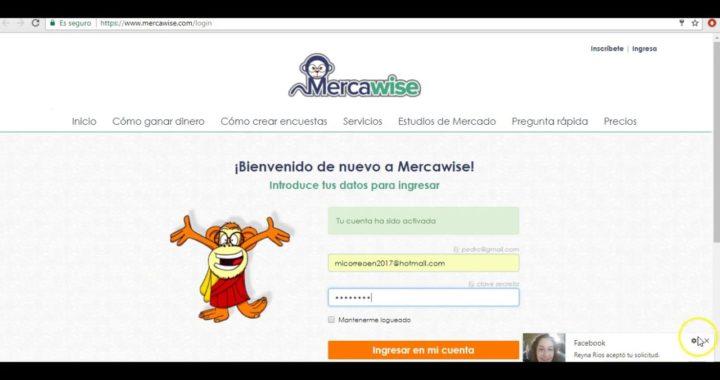 Tutorial para ganar dinero con MERCAWISE 2017