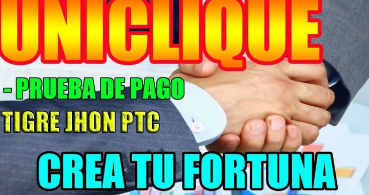 ULTIMO PAGO DE UNICLIQUE  PTC 2018 Y NOTICIAS IMPORTANTES / Hermana de Cliquesteria y Cliquebook