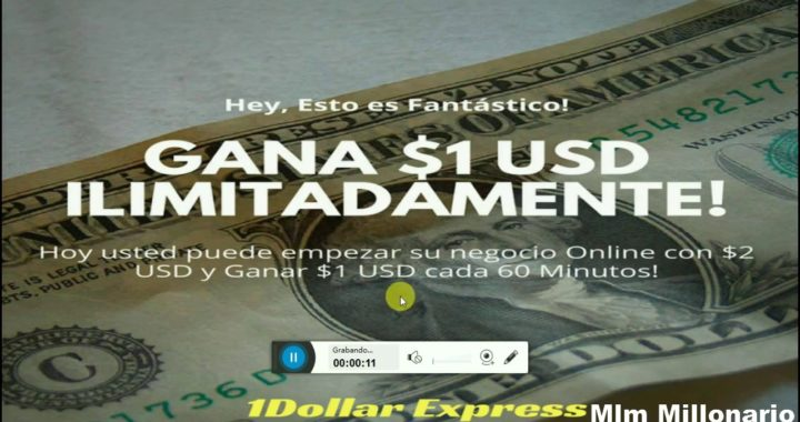 1 Dollar Express Pan de ganancias - Gana Con PayPal