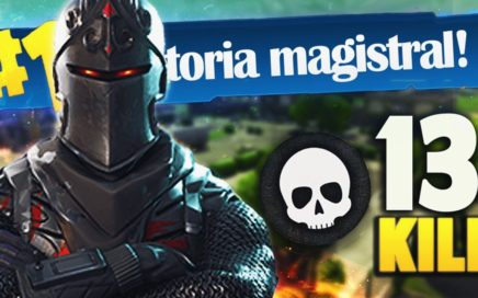 13 KILL ÉPICA VICTORIA sin BALLESTA | FORTNITE: Battle Royale