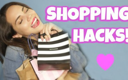 14 TRUCOS PARA HACER SHOPPING RÁPIDO Y CASI GRATIS | What The Chic